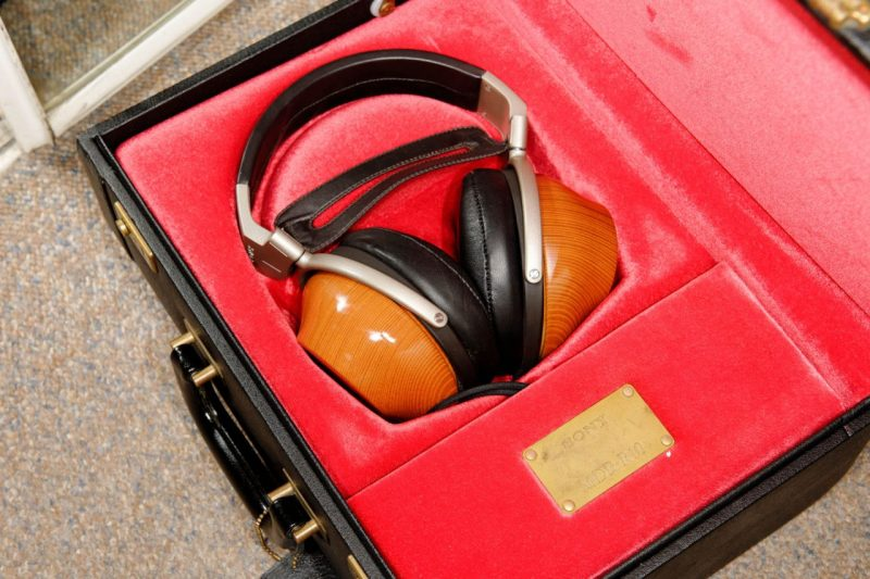 Sony MDR-R10 in case