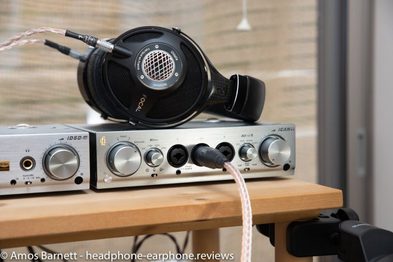 iFi Pro iCan Pro iDSD and Focal Utopias